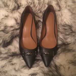 Coach Black Heels Size 8.5